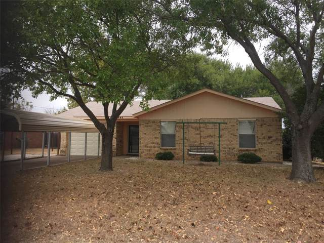 1945 Crawford Street, Graham, TX 76450 (MLS #14221688) :: RE/MAX Town & Country