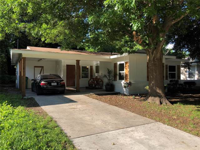 5808 Coleman Street, Westworth Village, TX 76114 (MLS #14221720) :: RE/MAX Town & Country