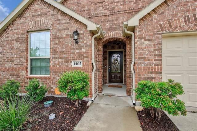 1405 Grackle Drive, Little Elm, TX 75068 (MLS #14221785) :: The Kimberly Davis Group