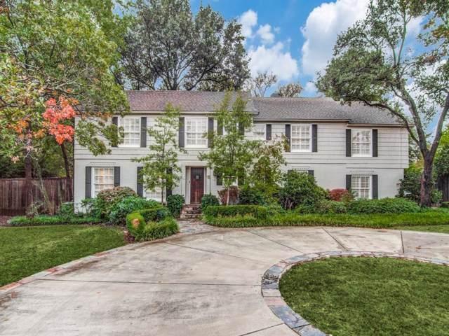 4606 Walnut Hill, Dallas, TX 75229 (MLS #14221790) :: The Good Home Team
