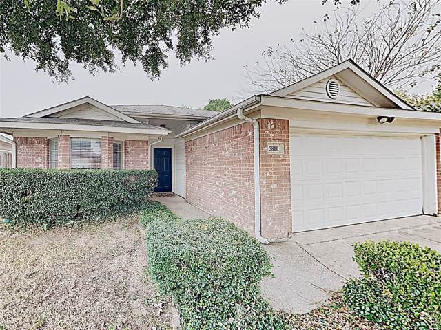 5810 Clarion Trail, Arlington, TX 76017 (MLS #14221791) :: Robbins Real Estate Group