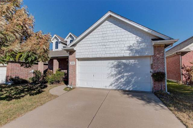 1024 Castle Top Drive, Fort Worth, TX 76052 (MLS #14221852) :: Real Estate By Design