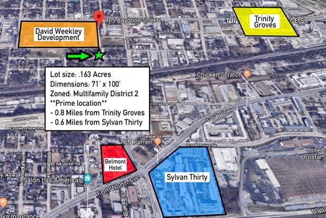 905 Bayonne Street, Dallas, TX 75212 (MLS #14221898) :: The Kimberly Davis Group