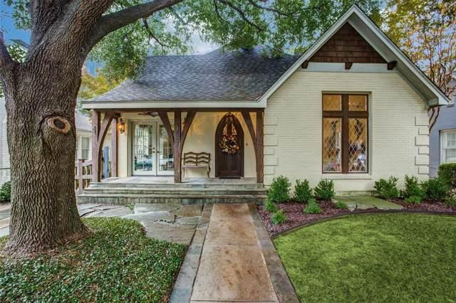 4057 Purdue Avenue, University Park, TX 75225 (MLS #14221935) :: RE/MAX Town & Country