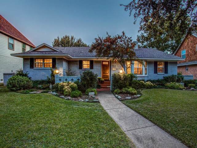 9418 Spring Branch Drive, Dallas, TX 75238 (MLS #14222302) :: The Hornburg Real Estate Group