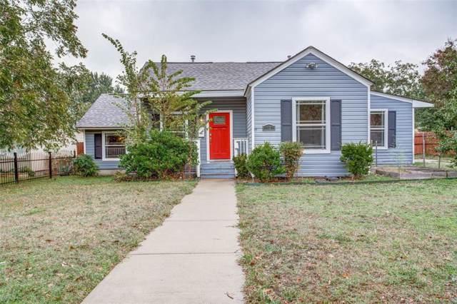 1627 Wilbur Street, Dallas, TX 75224 (MLS #14222323) :: Ann Carr Real Estate