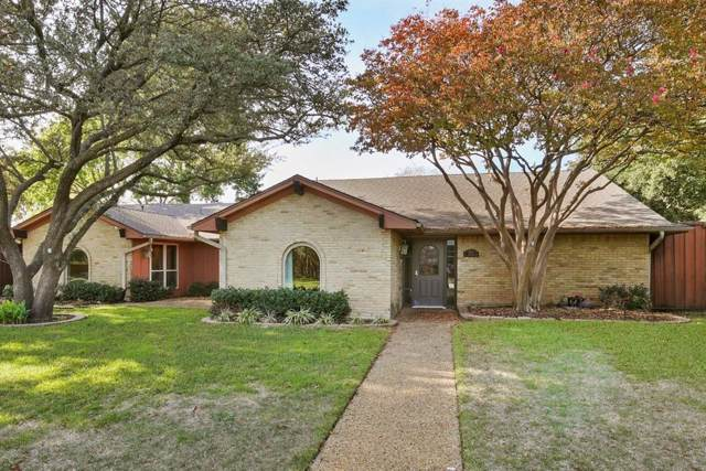 4015 Flintridge Drive, Dallas, TX 75244 (MLS #14222328) :: RE/MAX Town & Country