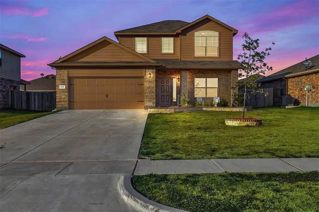 388 Saratoga Drive, Ponder, TX 76259 (MLS #14222382) :: The Kimberly Davis Group