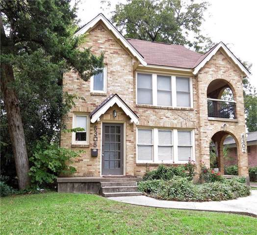 6305 Goliad Avenue, Dallas, TX 75214 (MLS #14222397) :: Bray Real Estate Group