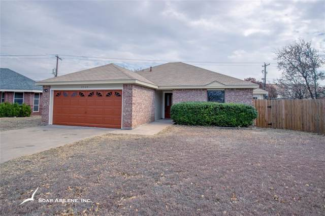 3509 Daisy Court, Abilene, TX 79606 (MLS #14222442) :: Tenesha Lusk Realty Group