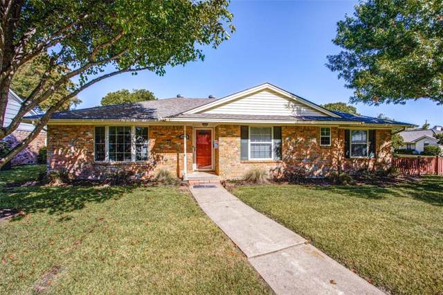 1400 Seminole Drive, Richardson, TX 75080 (MLS #14222476) :: The Kimberly Davis Group