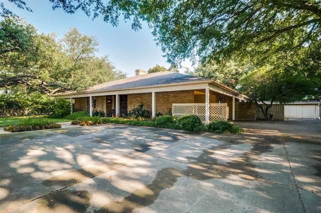 6007 Aberdeen, Dallas, TX 75230 (MLS #14222521) :: The Hornburg Real Estate Group
