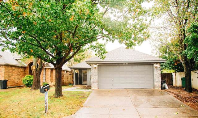 6700 Driffield Circle E, North Richland Hills, TX 76182 (MLS #14222536) :: RE/MAX Town & Country