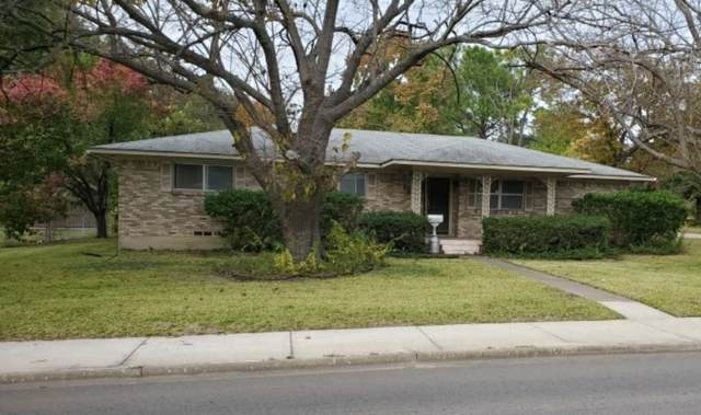 1800 Culver Street, Commerce, TX 75428 (MLS #14222558) :: RE/MAX Town & Country