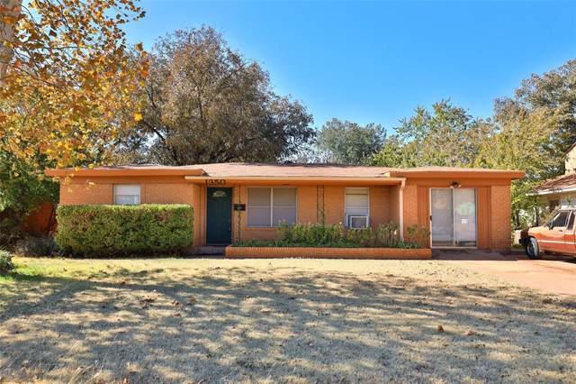 1350 S Pioneer Drive, Abilene, TX 79605 (MLS #14222587) :: Century 21 Judge Fite Company