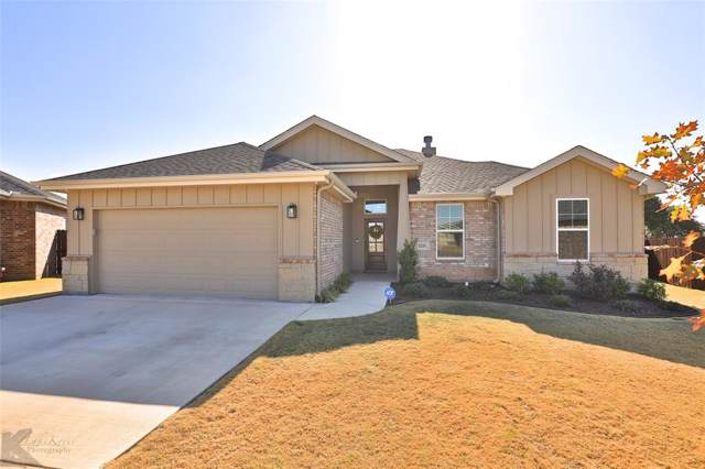 3210 Settlers Way, Abilene, TX 79601 (MLS #14222661) :: The Chad Smith Team