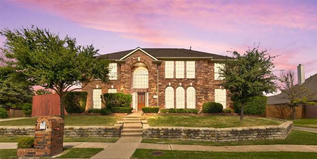 7505 Larchmont Drive, Dallas, TX 75252 (MLS #14222682) :: RE/MAX Town & Country