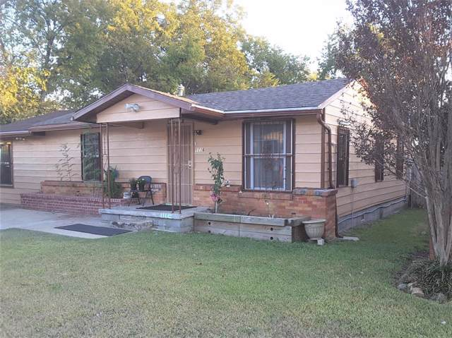 1116 Judd Street, Fort Worth, TX 76104 (MLS #14222775) :: Lynn Wilson with Keller Williams DFW/Southlake