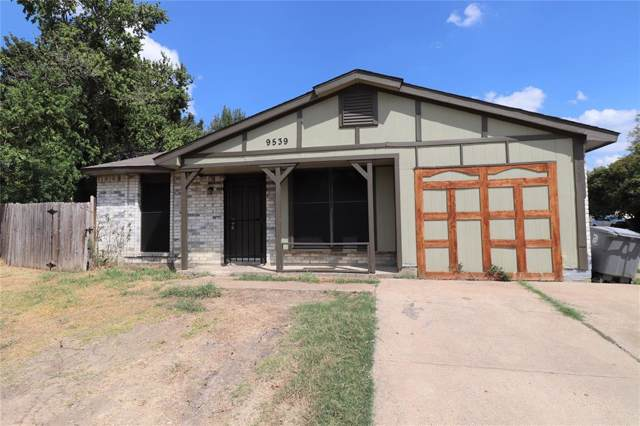 9539 Culberson Street, Dallas, TX 75227 (MLS #14222818) :: RE/MAX Town & Country