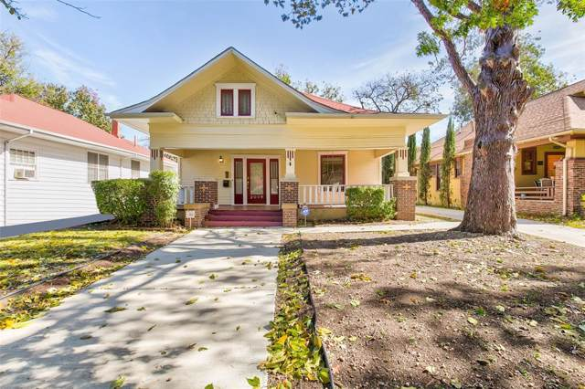 2009 Fairmount Avenue, Fort Worth, TX 76110 (MLS #14222868) :: RE/MAX Town & Country