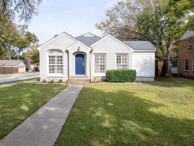 6003 Marquita Avenue, Dallas, TX 75206 (MLS #14222873) :: Hargrove Realty Group