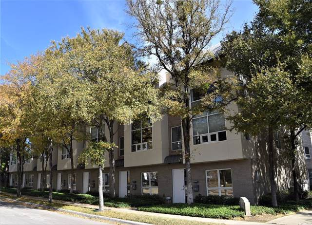 4100 Travis Street #5, Dallas, TX 75204 (MLS #14222937) :: Hargrove Realty Group