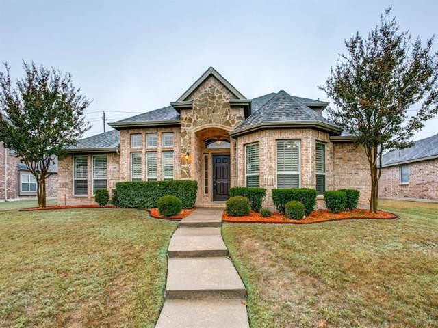 1609 Pecan Creek Lane, Allen, TX 75002 (MLS #14222952) :: The Good Home Team
