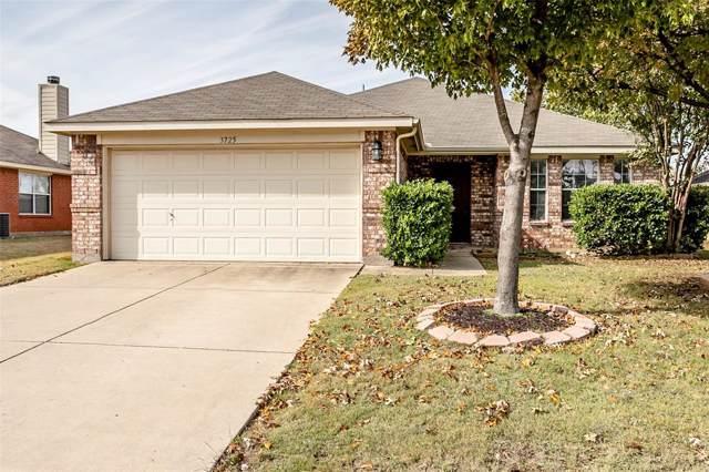 3725 Allison Drive, Denton, TX 76207 (MLS #14223045) :: The Mauelshagen Group