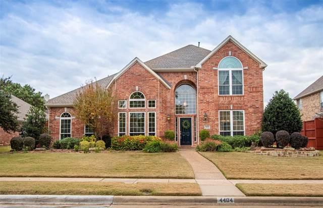 4404 Oak Knoll Drive, Plano, TX 75093 (MLS #14223076) :: Hargrove Realty Group