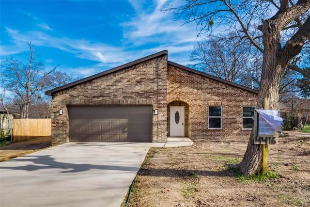 4416 Hilltop Street, Dallas, TX 75227 (MLS #14223262) :: The Good Home Team