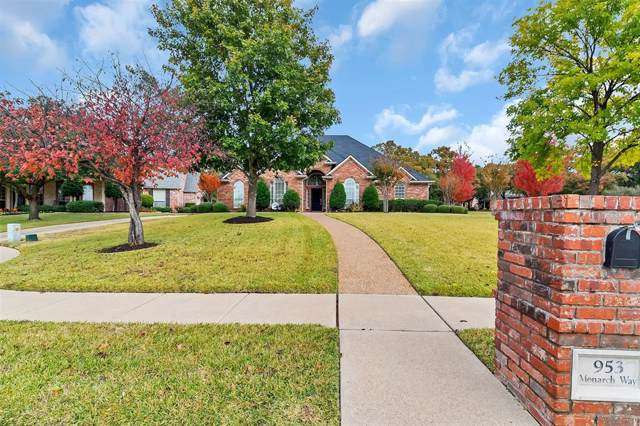 953 Monarch Way, Keller, TX 76248 (MLS #14223345) :: The Kimberly Davis Group