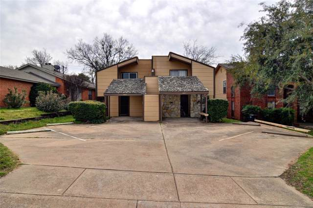 4825 Fletcher Avenue, Fort Worth, TX 76107 (MLS #14223454) :: Baldree Home Team