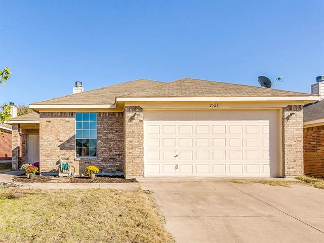 2521 Wakecrest Drive, Fort Worth, TX 76108 (MLS #14223457) :: Real Estate By Design