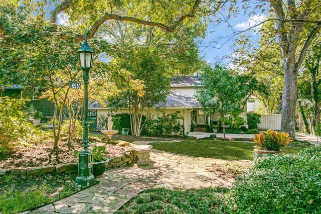 6950 Tokalon Drive, Dallas, TX 75214 (MLS #14223468) :: Tenesha Lusk Realty Group