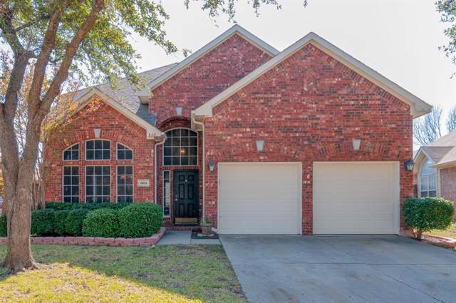 4604 Paloverde Drive, Fort Worth, TX 76137 (MLS #14223631) :: RE/MAX Town & Country