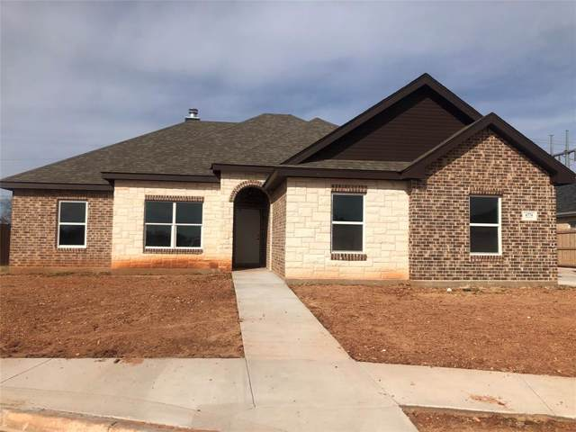 6774 Hillside Court, Abilene, TX 79606 (MLS #14223633) :: Ann Carr Real Estate