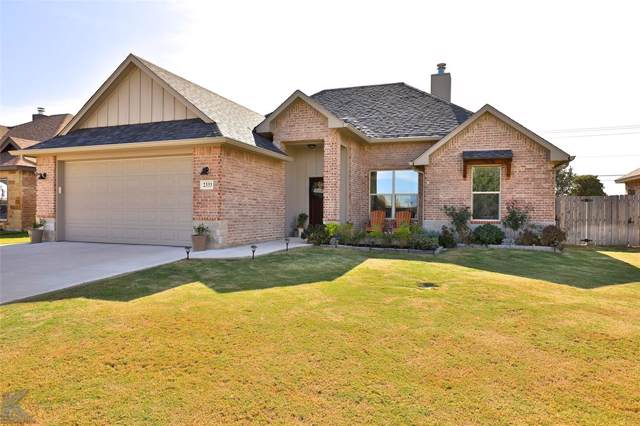 2333 Homestead Place, Abilene, TX 79601 (MLS #14223645) :: Lynn Wilson with Keller Williams DFW/Southlake