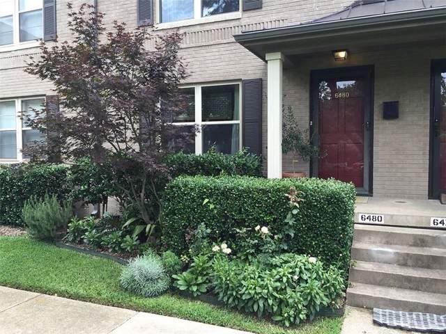 6480 Bordeaux Avenue, Dallas, TX 75209 (MLS #14223675) :: All Cities Realty