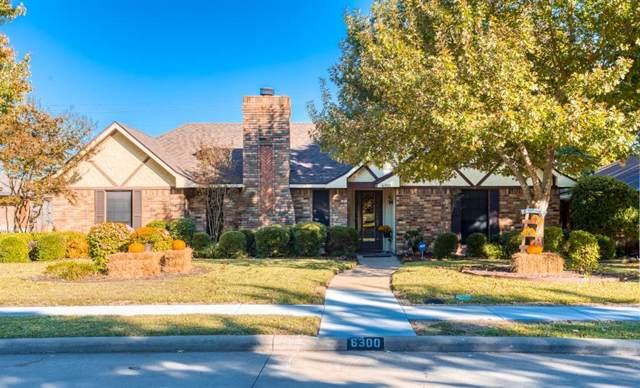 6300 Bronze Leaf Drive, Plano, TX 75023 (MLS #14223726) :: Lynn Wilson with Keller Williams DFW/Southlake