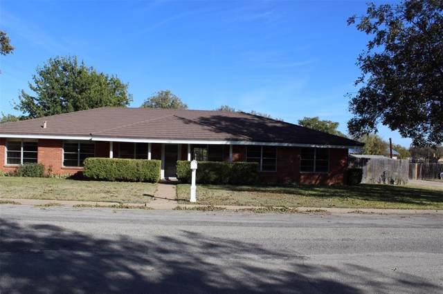 201 Palestine Street, Coleman, TX 76834 (MLS #14223772) :: Hargrove Realty Group