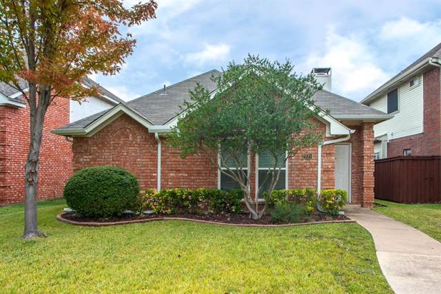 2221 Dallas Drive, Carrollton, TX 75006 (MLS #14223783) :: HergGroup Dallas-Fort Worth