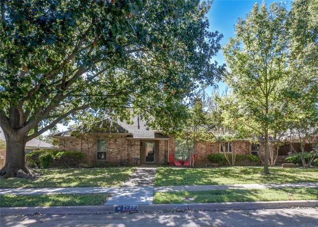 4212 Whippoorwill Lane, Plano, TX 75093 (MLS #14223953) :: RE/MAX Town & Country