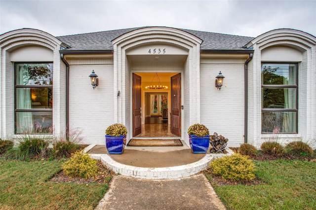 4535 Walnut Hill Lane, Dallas, TX 75229 (MLS #14224153) :: The Good Home Team