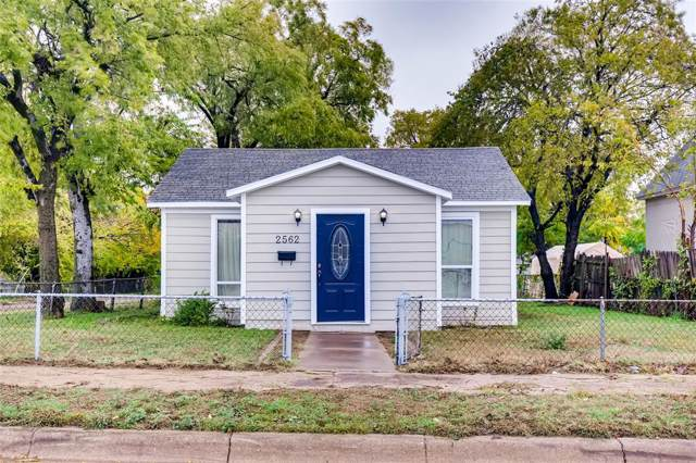 2562 Decatur Avenue, Fort Worth, TX 76106 (MLS #14224172) :: Lynn Wilson with Keller Williams DFW/Southlake