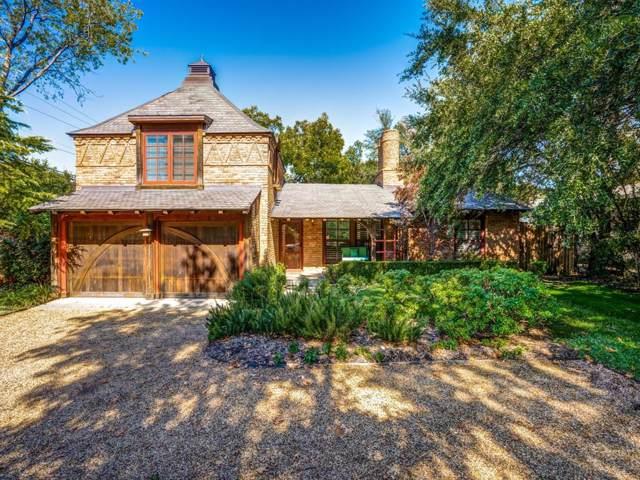 5301 W Mockingbird Lane, Dallas, TX 75209 (MLS #14224189) :: RE/MAX Town & Country