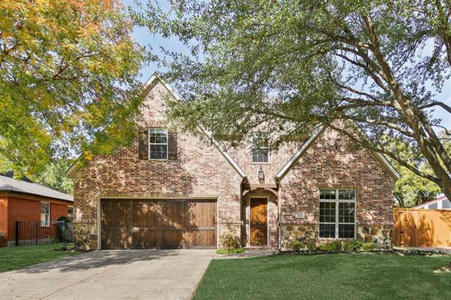 10321 Linkwood Drive, Dallas, TX 75238 (MLS #14224191) :: Frankie Arthur Real Estate