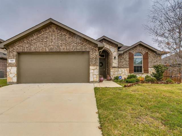 505 Peach Lane, Burleson, TX 76028 (MLS #14224215) :: RE/MAX Town & Country