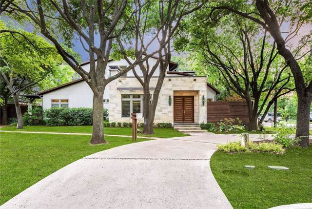 8519 Swananoah Road, Dallas, TX 75209 (MLS #14224217) :: Frankie Arthur Real Estate