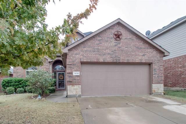 1416 Elkford Lane, Fort Worth, TX 76247 (MLS #14224338) :: Baldree Home Team