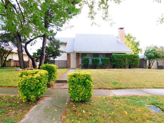 805 Meadowlark Drive, Lewisville, TX 75067 (MLS #14224386) :: RE/MAX Town & Country